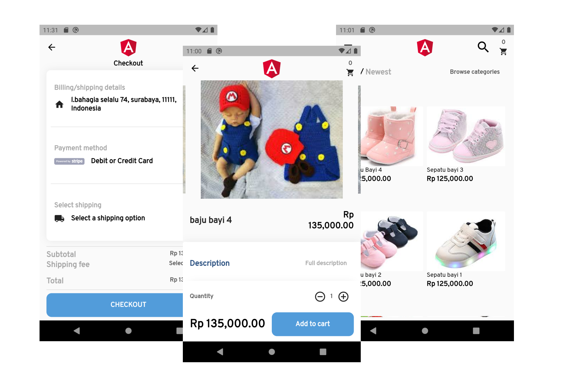 APK APP ONLINE SHOP ANDROID IOS IPHONE
