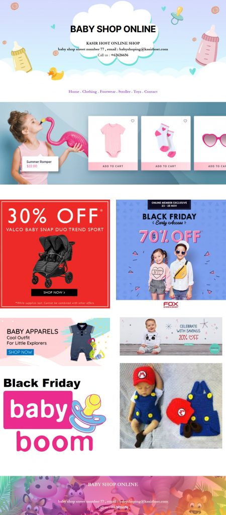 ALL IN ONE ONLINE SHOP BABY SHOP